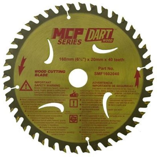 Dart Saw Blade - 160mm - 40 Teeth