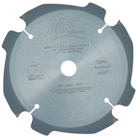 Dart Saw Blade - 125mm - 4 Teeth