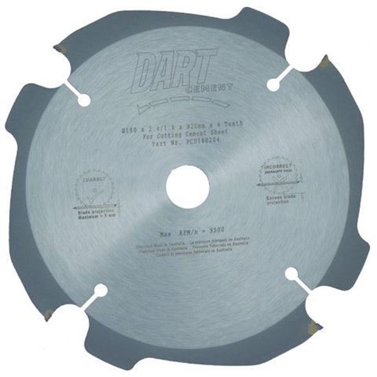 Dart Saw Blade - 180mm - 4 Teeth