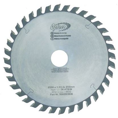 Opteco Saw Blade - 200mm - 36 Teeth