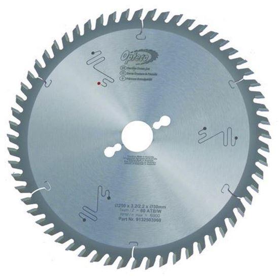 Opteco Saw Blade - 250mm - 60 Teeth