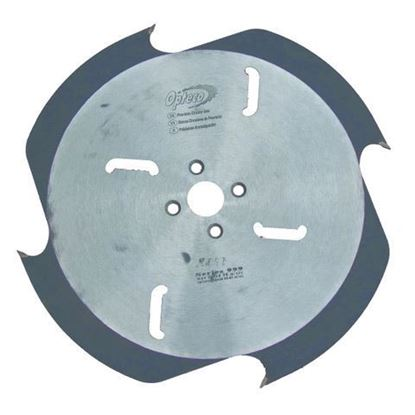 Opteco Saw Blade - 422mm - 4 Teeth - 2+2 T.C.T Wipers