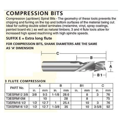 3 Flute Compression