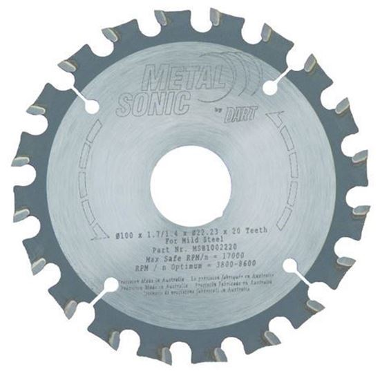 MetalSonic Saw Blade 20 Teeth