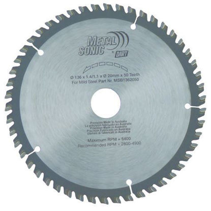 MetalSonic Saw Blade - 50 Teeth - 136mm