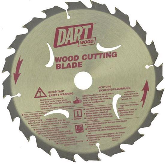 Dart Saw Blade - 20 Teeth - 160mm