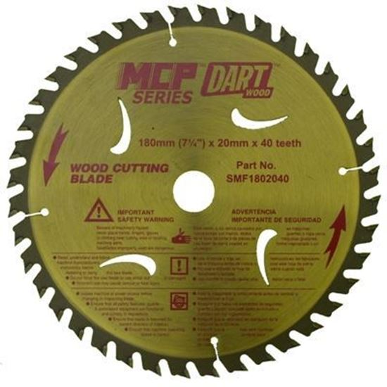 Dart Saw Blade - 180mm - 40 Teeth