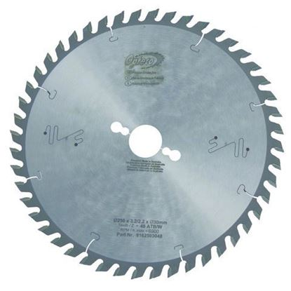 Opteco Saw Blade - 250mm - 48 Teeth
